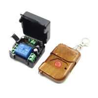 1 Channel DC 12V RF 100M Wireless Remote Control Switch Transmitter + Receiver