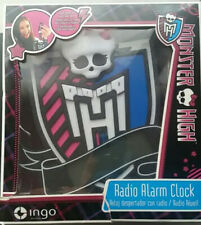 Monster High - Reloj Despertador con Radio - NUEVO