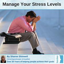 Manejo del estrés, alivio de tensión. Auto-hipnosis combinado CBT & CD de audio