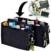 2 Kangaroo Keeper Black Bag Handbag Purse Travel Organiser Storage Tidy Hand New