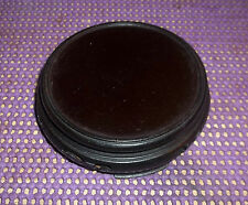 """Carved Traditional Wooden Stand / Pedestal for Display 4 1/2"""" W   TRIVET"""