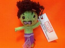 MARVEL THE INCREDIBLE HULK String Doll Figure Keychain NEW IN BOX  FREE SHIPPING