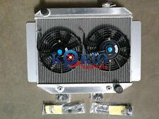 Aluminum Radiator&Twin Fans TORANA LC LJ LH LX UC 4CLY & 6CLY 1969-1978 AUTO MT