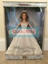 ☀ NEW BARBIE Millennium Wedding Bridal Collection Doll First in Series Blonde