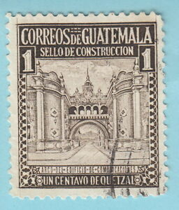 GUATEMALA stamp 1949 1 Cent Quetzal Postal Tax R233 used
