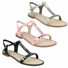 Clarks Strappy Synthetic Sandals & Beach Shoes for Women