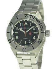 Vostok Komandirskie 650540 Watch Automatic Russian Wrist Watch Black New