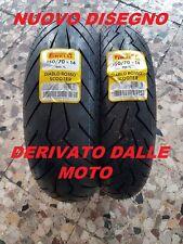 Coppia 120/70-14 S  150/70-14 S Pirelli DIABLO ROSSO SCOOTER T-MAX500 2001-03