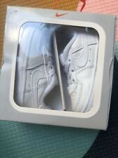 BNIB Nike Air Force 1 Crib Shoes Baby Uk 3.5 Eur 19.5