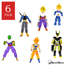 Lot 6 Pcs Dragonball Z Dragon ball DBZ Goku Piccolo Action Figure Toy Set Anime