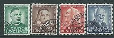 GERMANY 1953 RELIEF FUND SET USED BARGAIN PRICE