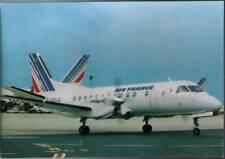 (wjg) Airplane Postcard: Air France, Saab SF-340