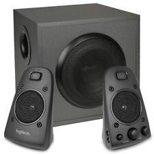 Logitech Z625 THX Certified 3-Piece 2.1-Channel Multimedia Speaker System--Black