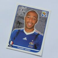 Thierry Henry Panini World Cup South Africa 2010 Football Sticker #103 France