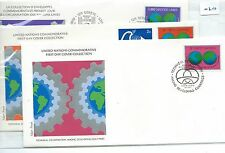 wbc. - UNITED NATIONS - FIRST DAY COVERS - FDC -020- 1978 - TECH. CO-OPERATION