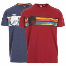 Trespass Mens Lakehouse Round Neck Short Sleeve T Shirt