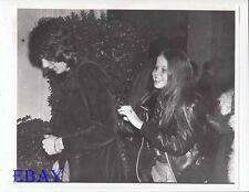Rick Springfield Linda Blair VINTAGE Photo candid