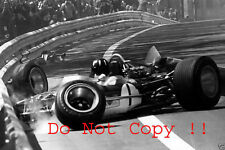 Graham Hill Gold Leaf Team Lotus 49B Spanish Grand Prix 1969 Photograph 1