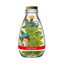 PUREDERM Deep Cleansing Peel Off  Mask Green Tea 10g No impurities & Dead skin