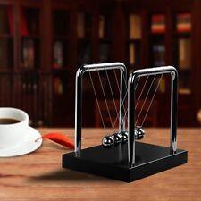 BOJIN Newton s Cradle Balance Ball Science Puzzle Desk Toy - Mirror - Medium