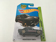 Hot Wheels Workshop Nissan Skyline H/T 2000GT-X Black 1:64 Diecast Model Car