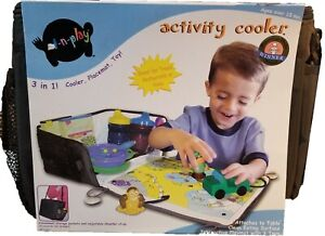 Eat-n-Play Activity Cooler, Placemat and Toy NIB! Convenient Carrying Case!