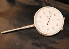 Long Travel Dial Gauge DTi Dial Test Indicator 0-50 mm x 0,01 mm From Chronos