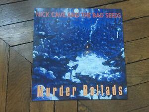 NICK CAVE &THE BAD SEEDS Murder ballads LP