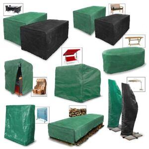 Housse protection bache meuble jardin table chaisse banc balancelle parasol bois