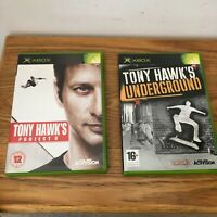 Xbox Tony Hawks Underground Bundle Project 8 Pal Activision x2 Disc With Manual