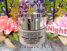 Clinique NEW Gift *Smart Night Creme*◆(.5oz/15ml)◆*Bright Cover*☾FREE POST !!☽