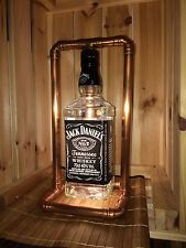Jack Daniels Bottle Copper Retro Led Lamp