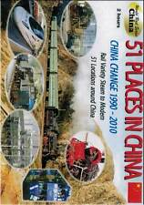 51 Places in China 1990-2010 DVD NEW steam maglev Tibet Railway Shibanxi Fushun