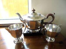 Art Deco Silver Plated Tea Service
