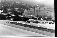 Vintage 1950's Photo Negative of Idaho Springs Shopping Center & Cars Colorado