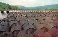Widmer Wine Cellars Naples New York NY sherry aging on roof tops 1955 Postcard