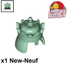 Lego - 1x Minifig headgear couronne crown LOTR vert pale/sand green 71015 NEUF