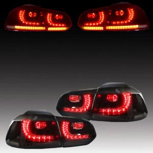 Victocar LED Tail Lights for VW Volkswagen Golf 6 VI GTI MK6 Rear Lamps LH RH