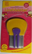 NPA LICEMEISTER HEAD LICE & NIT REMOVAL CRITTER CARD & COMB CLEANER STAINLESS