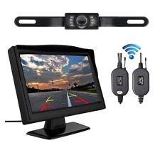 """5"""" LCD Sans fil Vision Nocturne Voiture Recul Sauvegarde Caméra de Système Kit"""