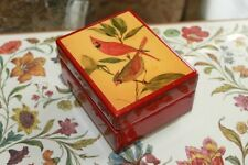 Vintage Reuge Music Box Plays We're Loyal to You Illinois Fight Song