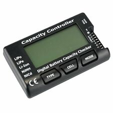 RC Cell Meter-7 Digital Battery Capacity Checker for NiCd/NiMH/LiPo W7K4