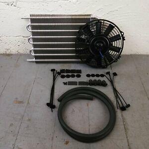 1929-61 Dodge Desoto Transmission Oil Cooler Electric Radiator Fan Kit 341 325