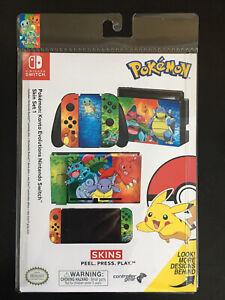 Controller Gear Nintendo Switch Skin- Pokemon: Kanto Evolutions Set 1
