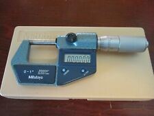 Mitutoyo No 293 765 30 0 1 Digital Digimatic Micrometer 00005 Resolution