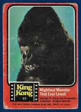 1976 King Kong #41 Mightiest Monster that Ever Lived! (Fair) VERY RARE