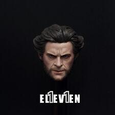 Eleven 1/6 Scale Wolverine Original Logan Hugh Jackman Head Sculpt with Cigar