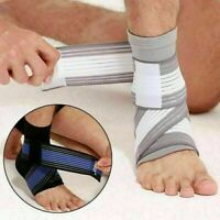 Ankle Brace Compression Sleeves Heel Foot Support Bandage Socks Pain Relief USA
