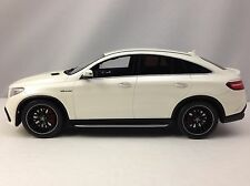 GT Spirit Mercedes Benz GLE 63 S AMG White Dealership Edition L.E. 1/18
