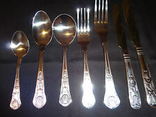 2 Place Setting, 14 Piece Kings Design, Restaurant Quality, Cutlery Set